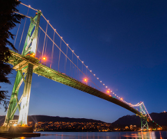 Hotsa Consulting is based in Vancouver (Lions Gate Bridge)